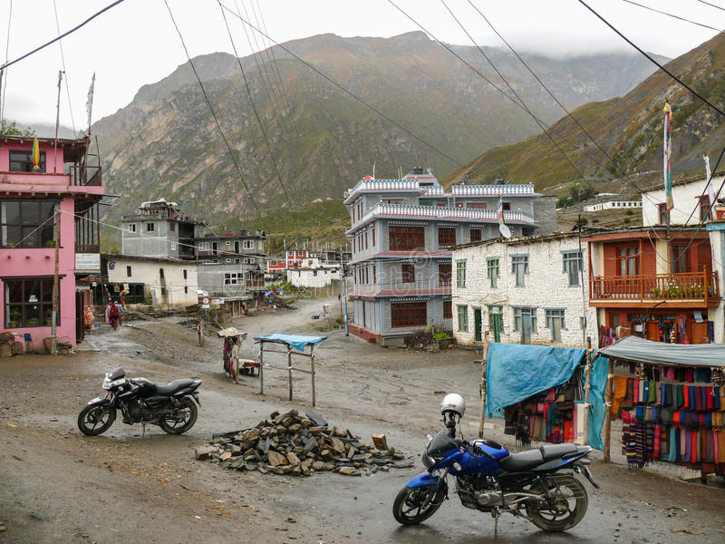 Ranipauwa wioska, Nepal fotografia stock