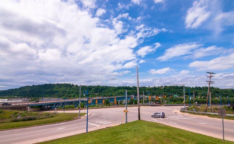 Rankin, Pennsylvanie, Etats-Unis 6/9/2019 de Rankin de l'entrée de pont du boulevard de Rankin photos stock