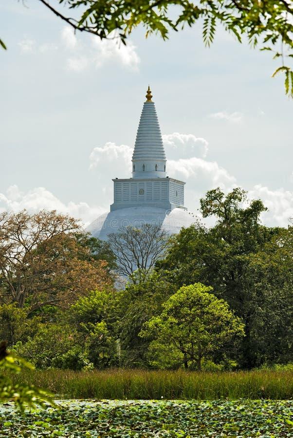 Rankoth Vehera Polonnaruwa, Sri Lanka imagenes de archivo