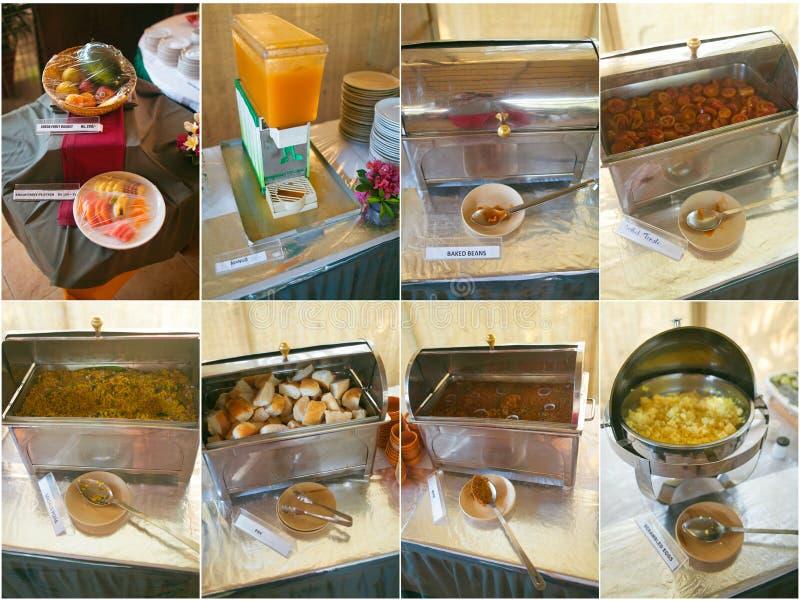 Ranku śniadanie India zdjęcia stock