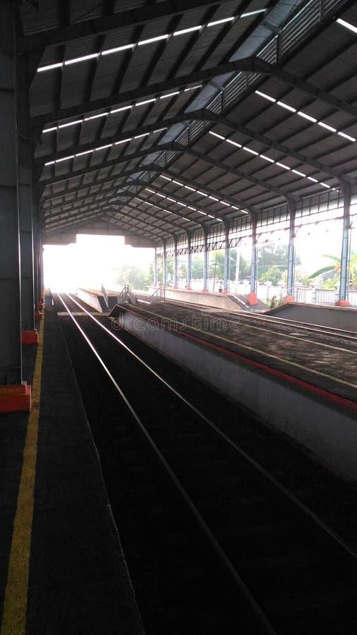 Ranku dworzec zdjęcie stock