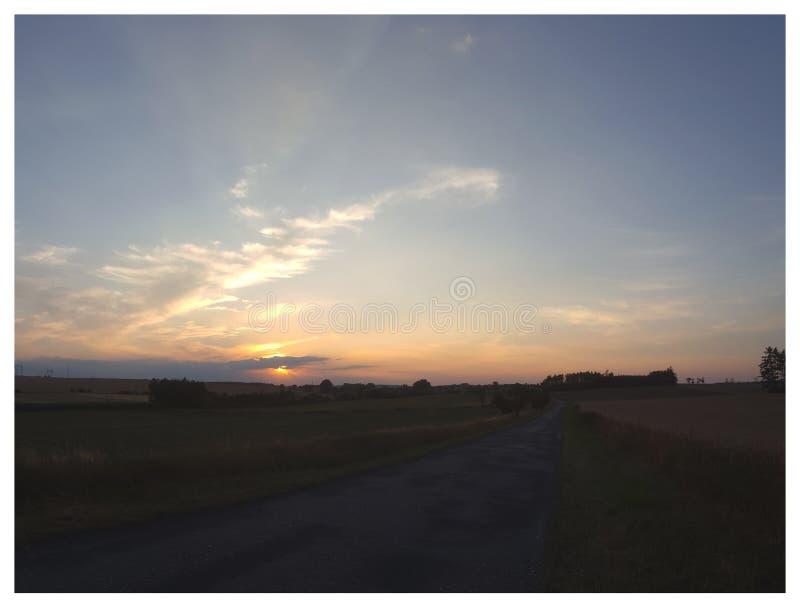 Ranku nastrój Vol 2 - Zmierzch i chmury zdjęcie stock