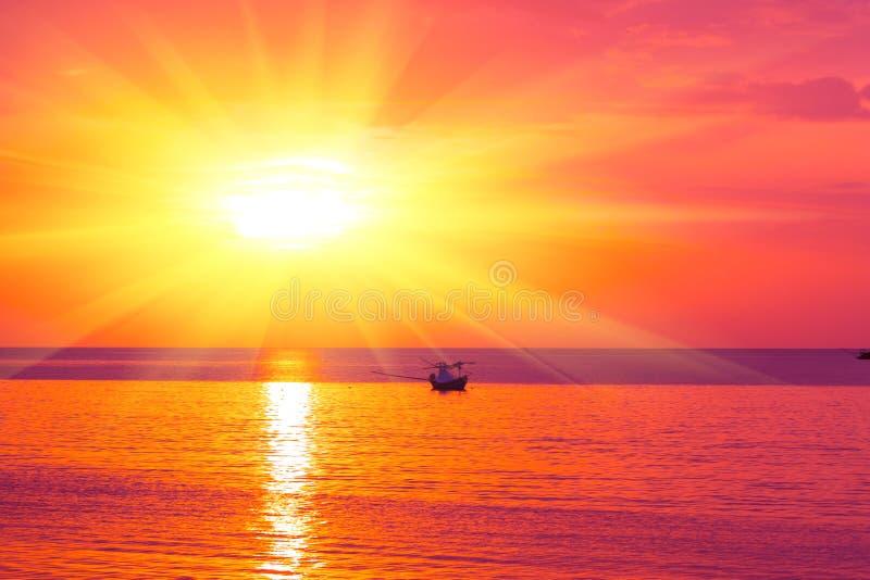 Ranku słońca światło - pomarańczowa gorąca strefa obrazy royalty free