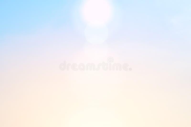 Ranku słońca światło - pomarańczowa gorąca strefa zdjęcie royalty free