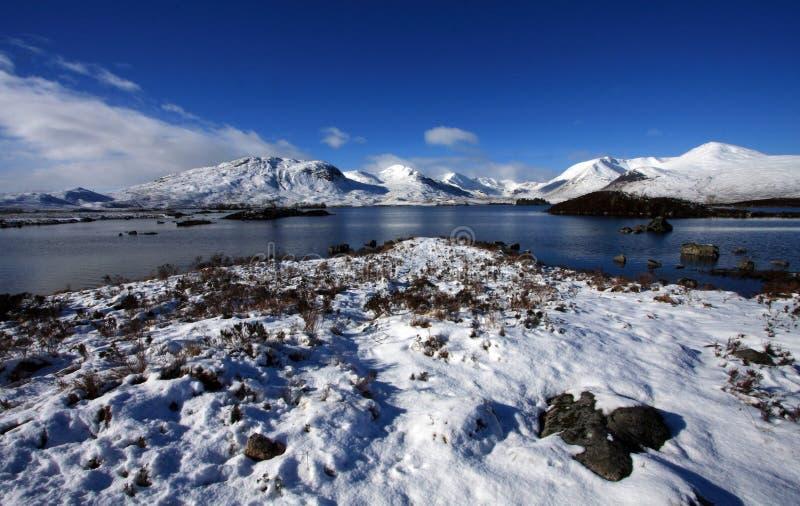 Rannoch amarra el lago fotos de archivo libres de regalías