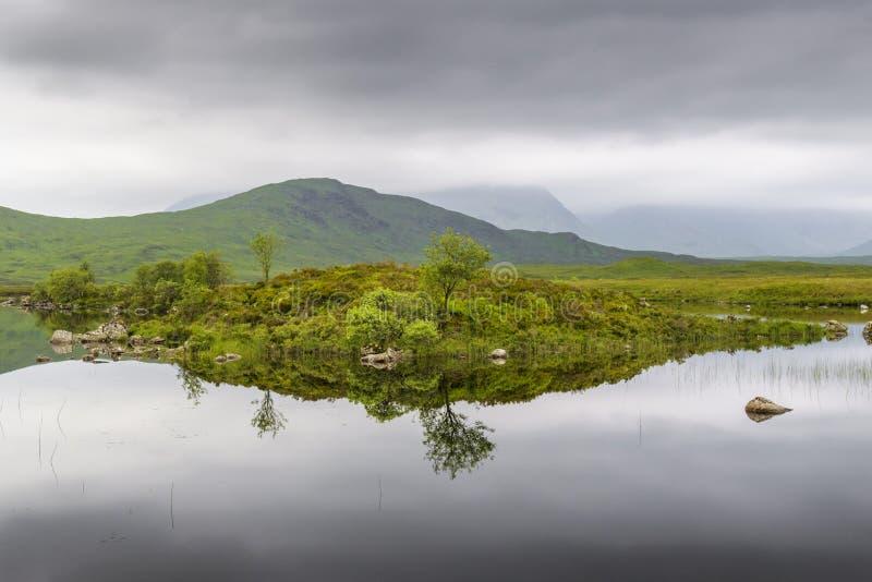 Rannoch amarra en Glencoe, Escocia, Reino Unido fotos de archivo libres de regalías