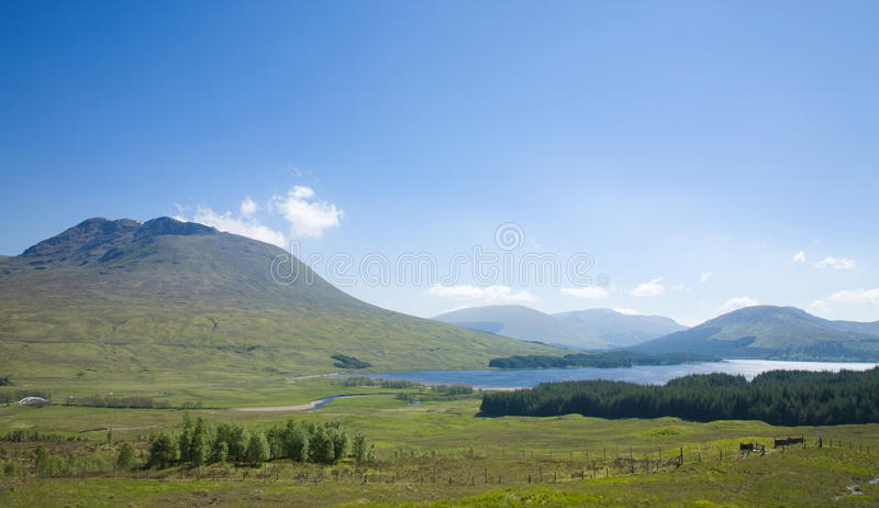 Rannoch Moor stock photo