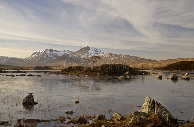 Download Rannoch Moor stock image. Image of glencoe, remote, solitary - 4376573