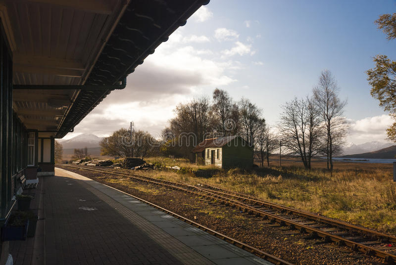 Rannoch station stock photos