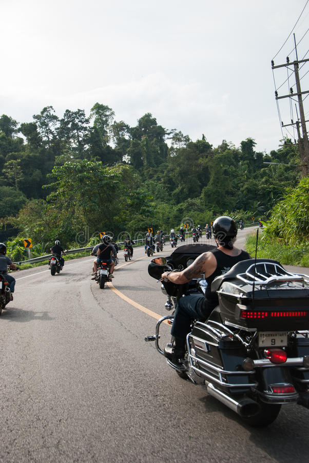 RANONG, TAILANDIA - 29-30 NOVEMBRE: Partecipanti a trentesimo Ranong fotografia stock libera da diritti