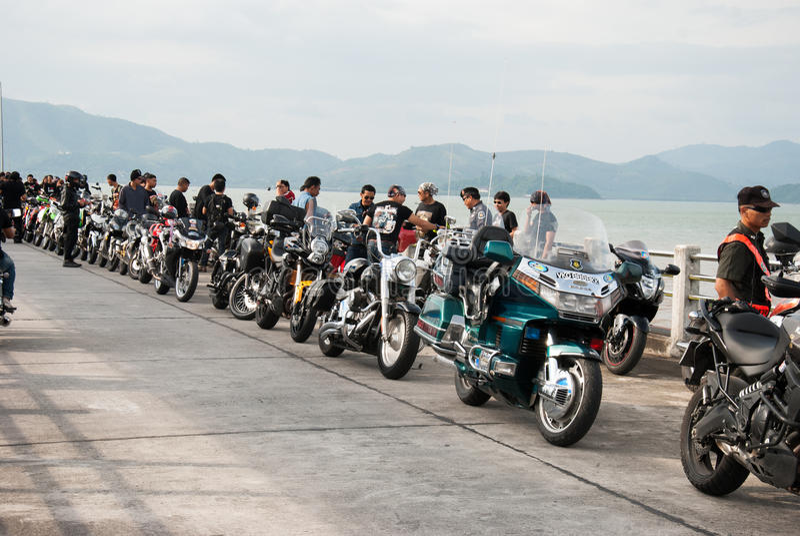 RANONG, TAILANDIA - 29-30 NOVEMBRE: Partecipanti a trentesimo Ranong immagine stock libera da diritti