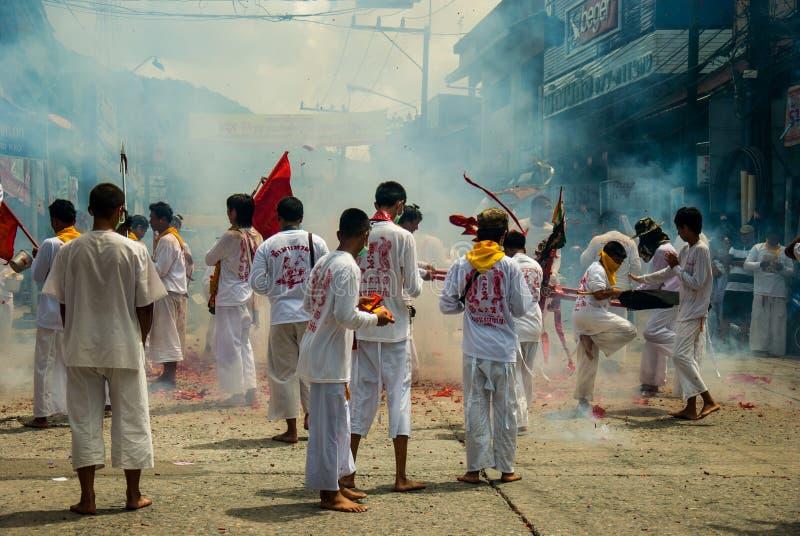 Ranong, TAILANDIA - 5-13 ottobre: fotografia stock libera da diritti