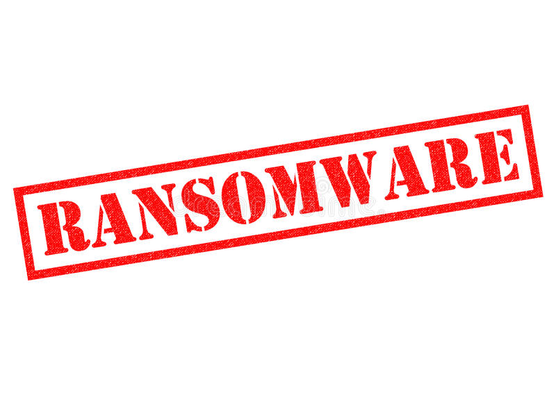 Ransomware vector illustratie