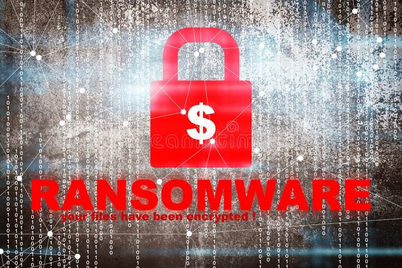 Ransomware-Alarm lizenzfreie abbildung