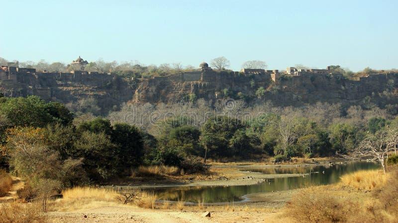 Ranthambore fort, Rajasthan, India fotografia stock