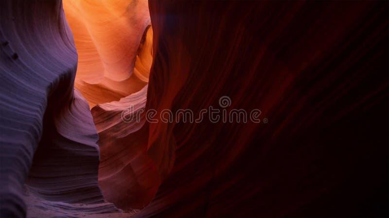 Ranure el barranco en el parque nacional de Escalante de la escalera magnífica, Utah, los E.E.U.U. Las formaciones coloridas inus fotos de archivo