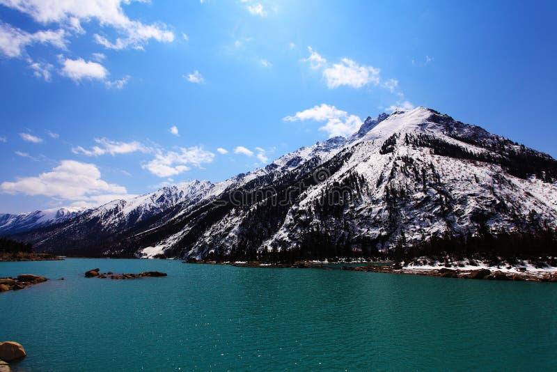 Ranwu jezioro zdjęcia stock