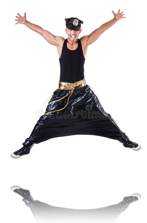 Download Rap dancer stock photo. Image of fitness, dance, beautiful - 30219986