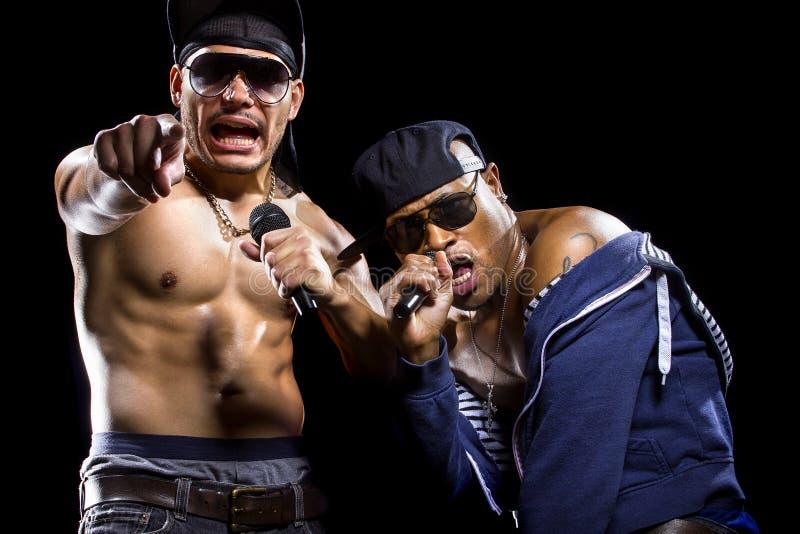 Rap koncert obrazy royalty free