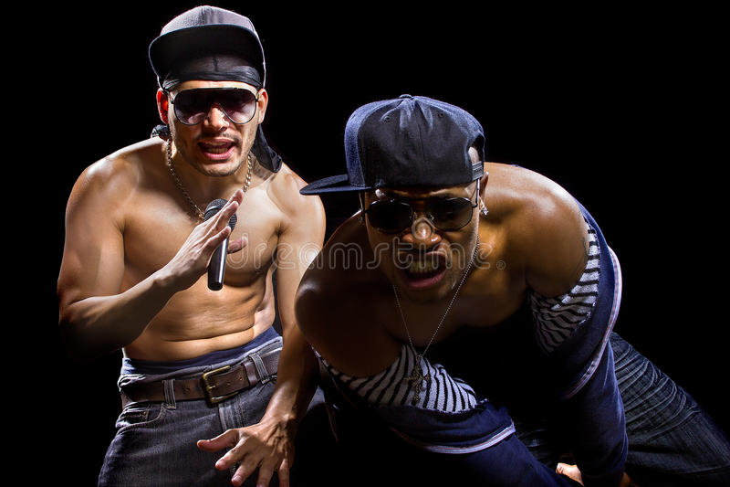 Rap koncert zdjęcia stock