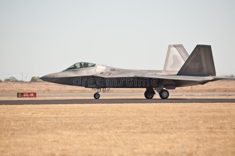 Rapace de Lockheed Martin F-22 image libre de droits