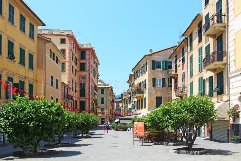 Rapallo, Włochy zdjęcie stock