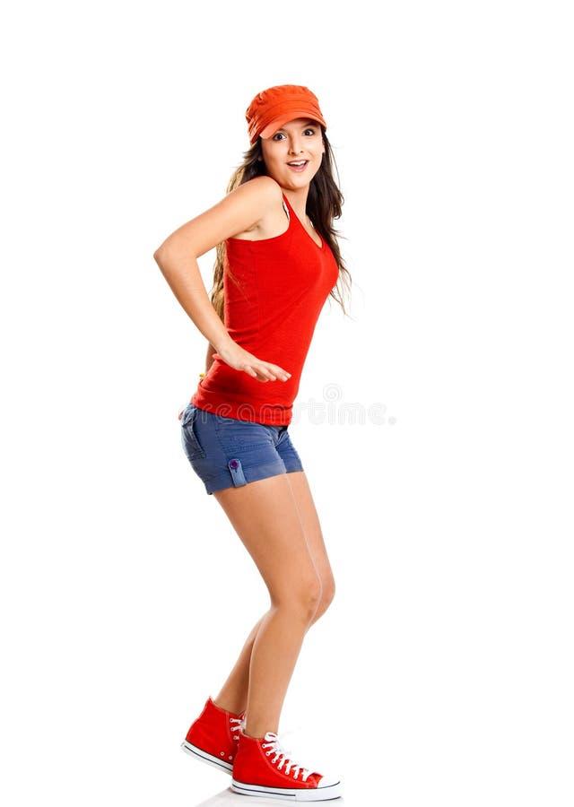 Rapariga imagem de stock