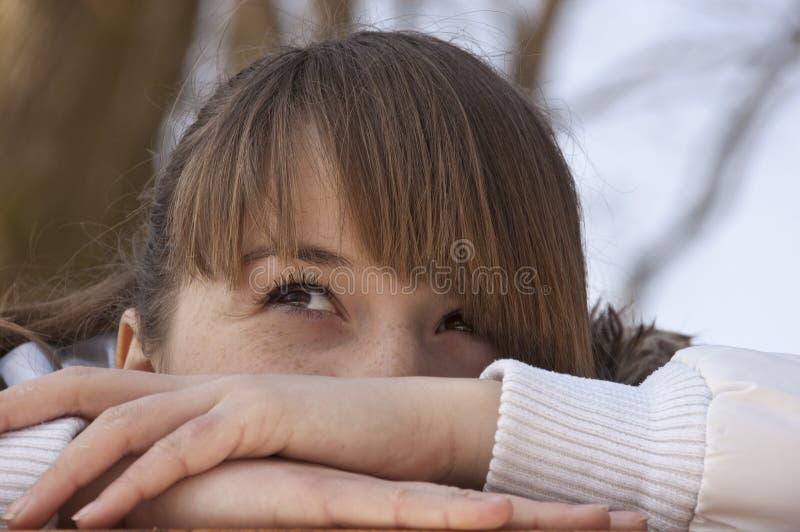 Rapariga bonita. imagens de stock royalty free