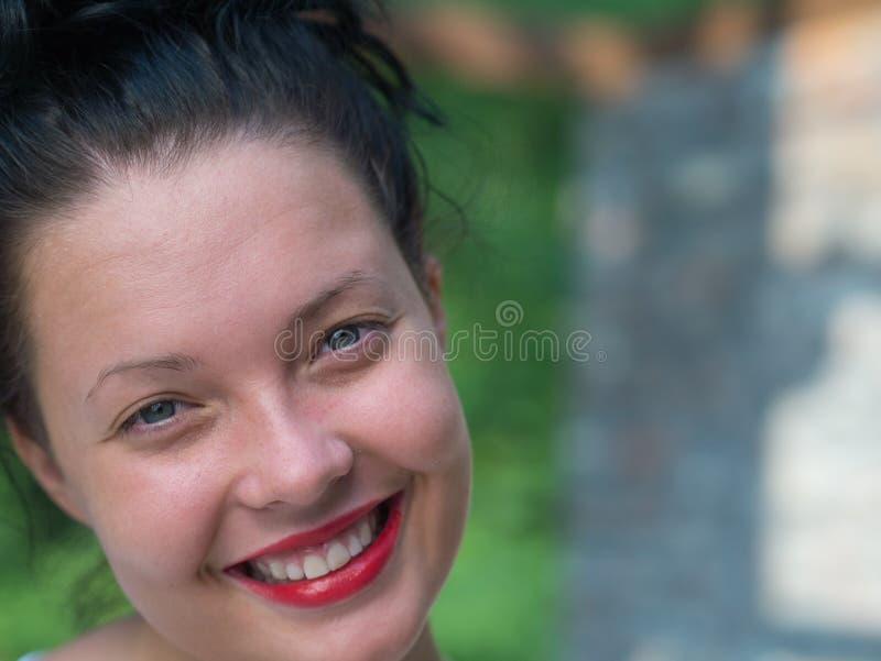 Rapariga da beleza foto de stock