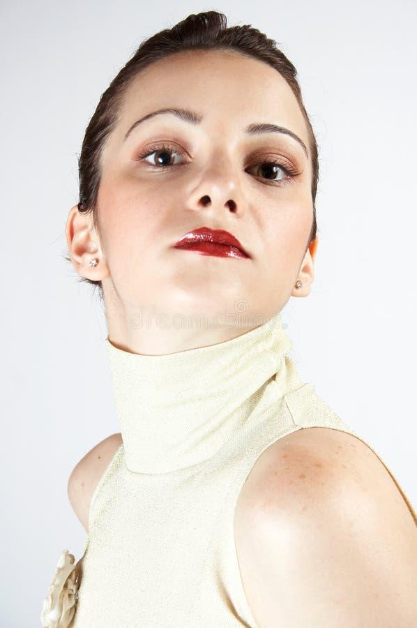Rapariga elegante 03 imagens de stock royalty free