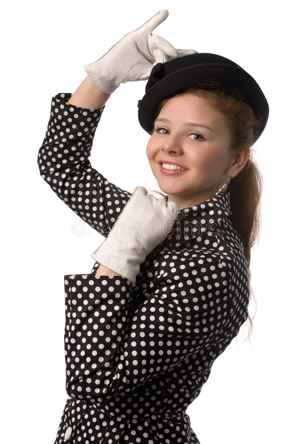 Rapariga engraçada fotos de stock