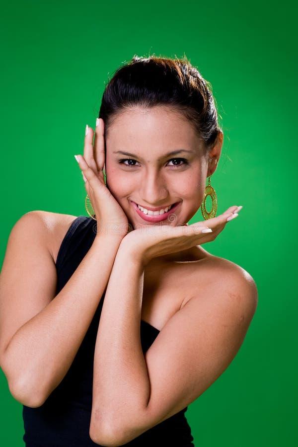 Rapariga expressivo feliz fotos de stock royalty free