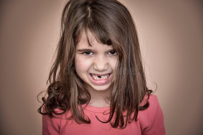 Rapariga irritada fotos de stock royalty free