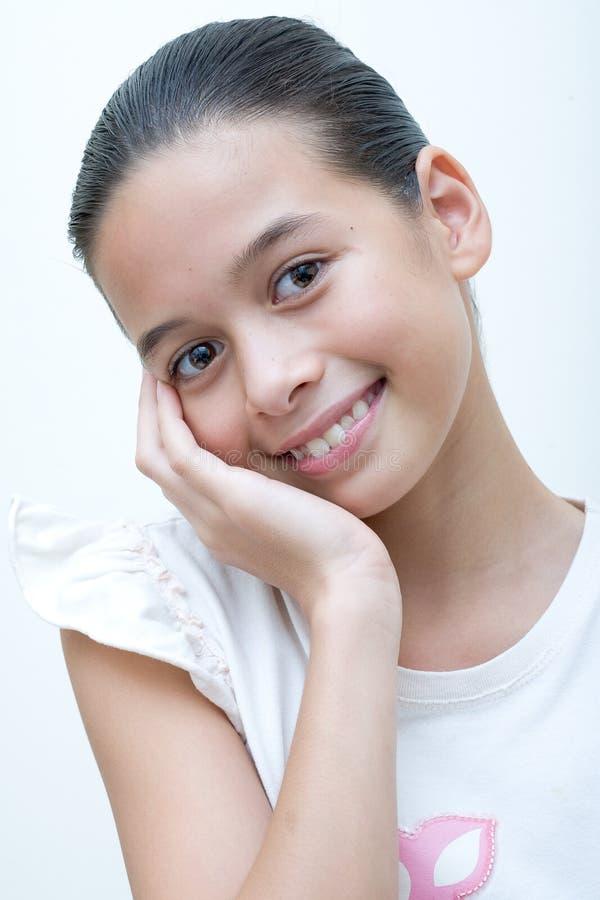 Rapariga nova e confiável fotos de stock