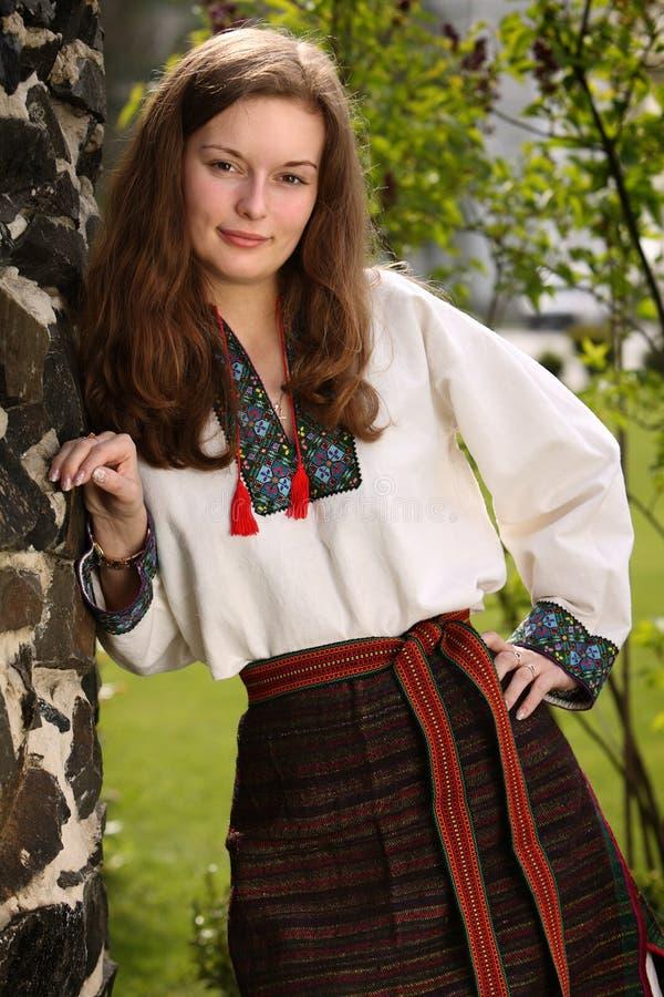 Rapariga ucraniana imagens de stock royalty free