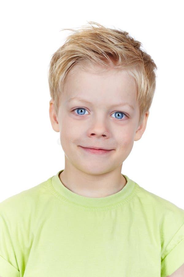 Rapaz bonito fotografia de stock royalty free