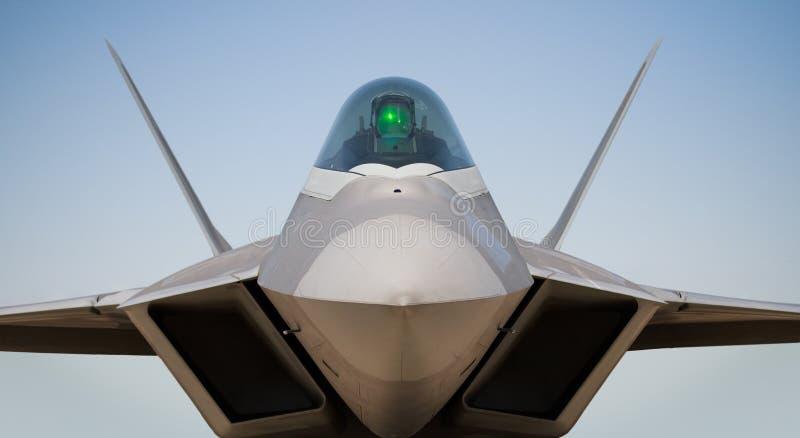 Rapaz de Boeing/de Lockheed F-22 foto de archivo