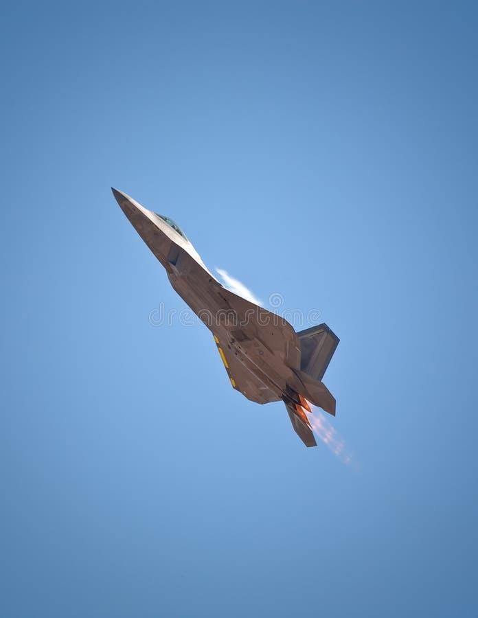Rapaz de Lockheed Martin F-22 fotografía de archivo libre de regalías
