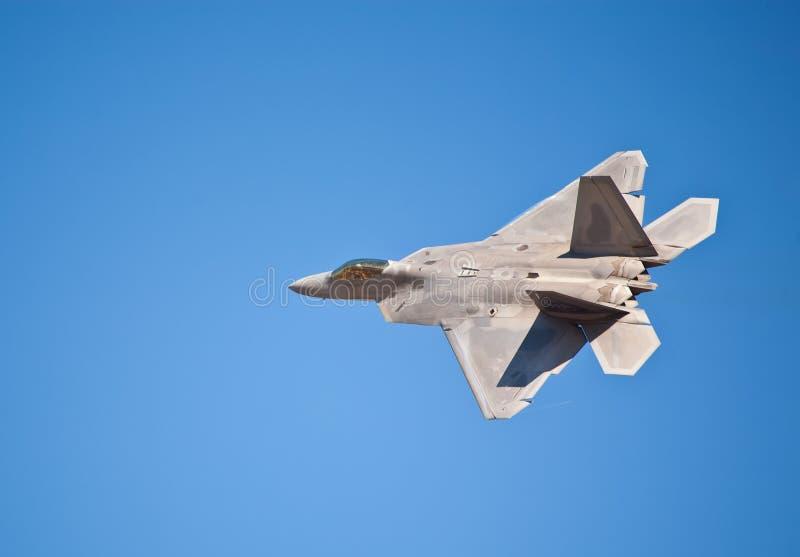Rapaz de Lockheed Martin F-22 imagen de archivo