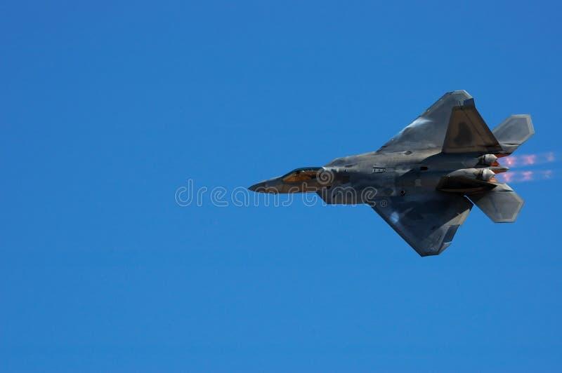 Rapaz F-22 imagen de archivo libre de regalías