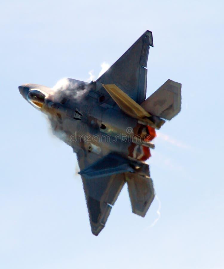 Rapaz F-22 fotografía de archivo libre de regalías