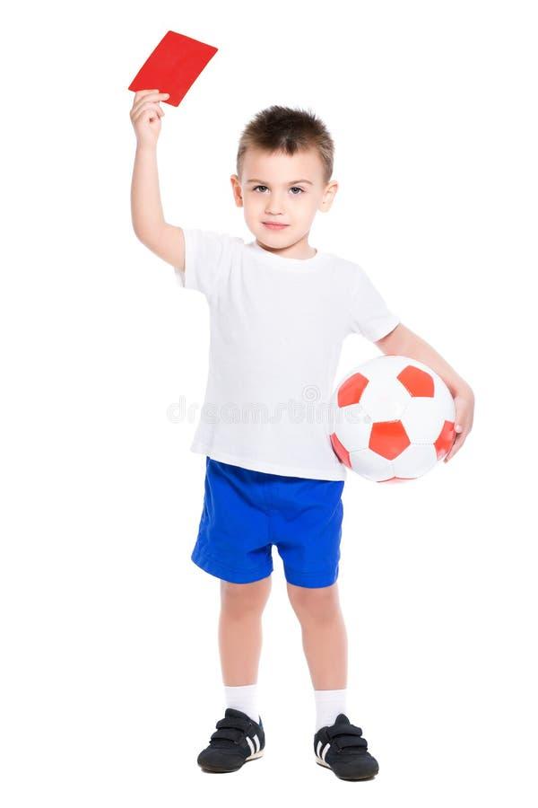 Rapaz pequeno agradável foto de stock royalty free