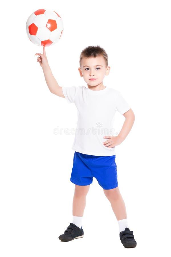 Rapaz pequeno brincalhão foto de stock royalty free