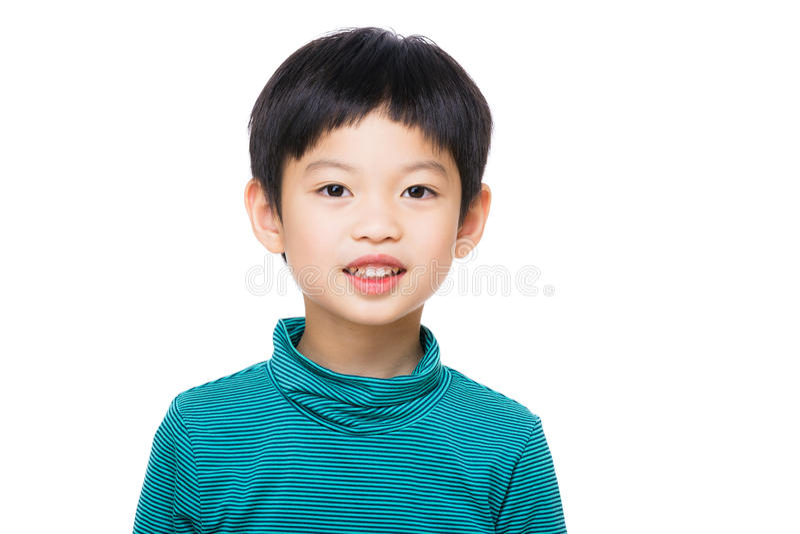 Rapaz pequeno de Ásia fotos de stock royalty free