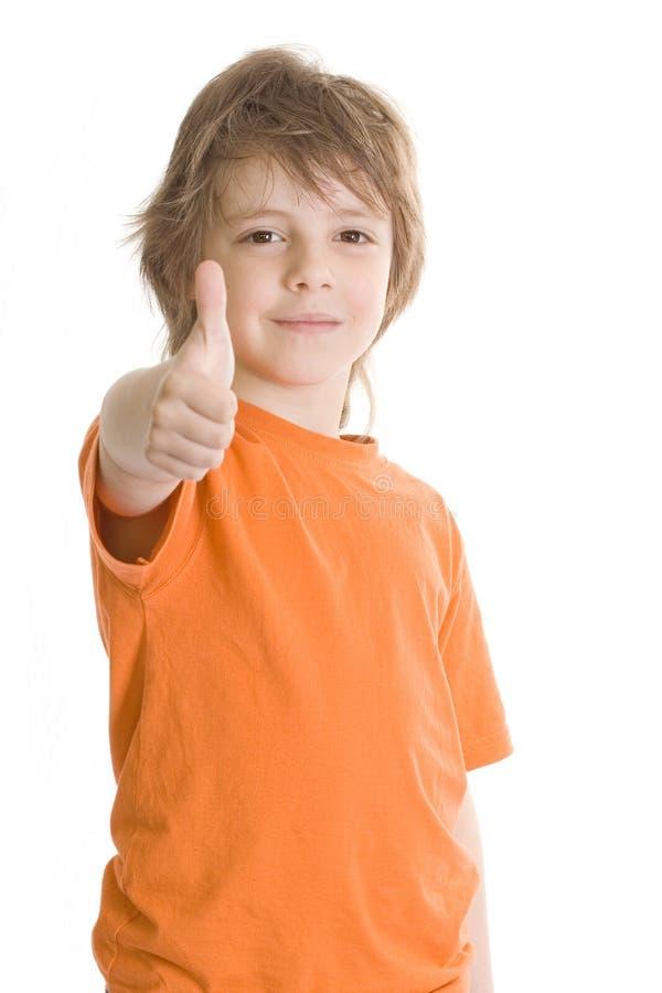 Rapaz pequeno feliz imagens de stock