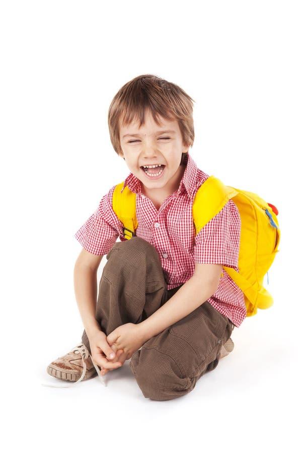 Rapaz pequeno feliz fotografia de stock royalty free