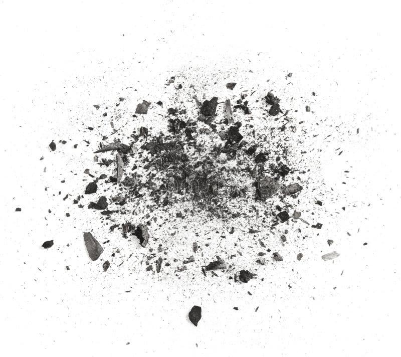 Rapièce le charbon de bois images libres de droits
