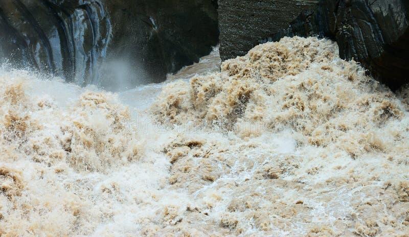 Rapid Flow Of Water Stock Photos