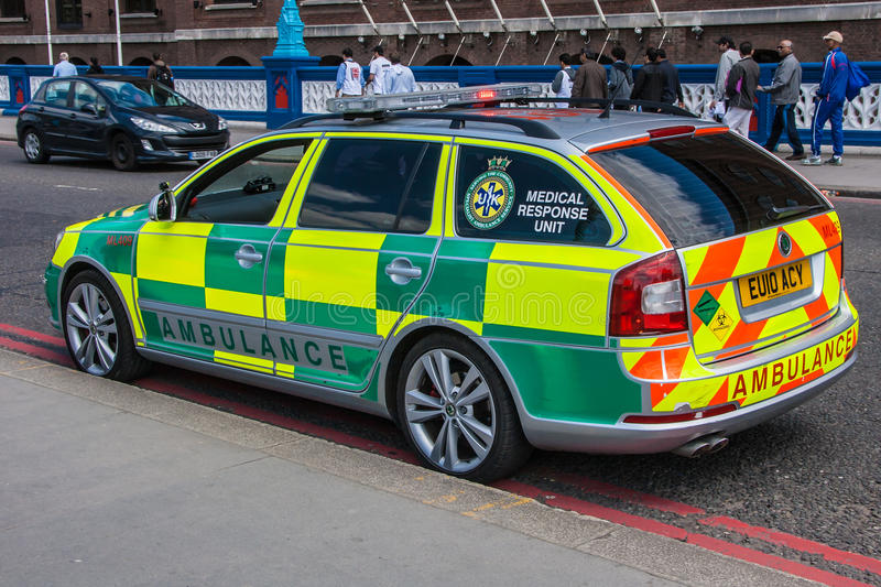Download Rapid Response Ambulance editorial photo. Image of color - 24834216