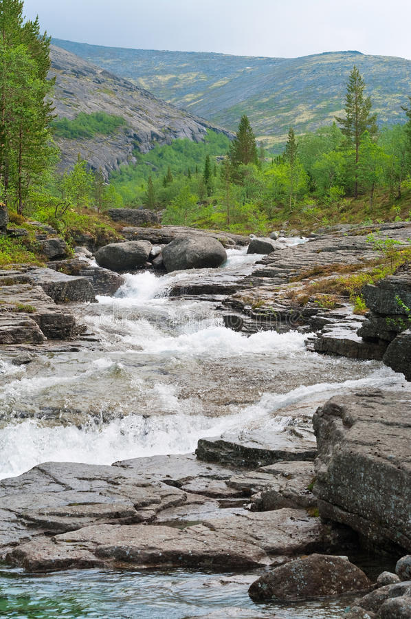 Download Rapid River Flow In Mountains Stock Image - Image: 15414005
